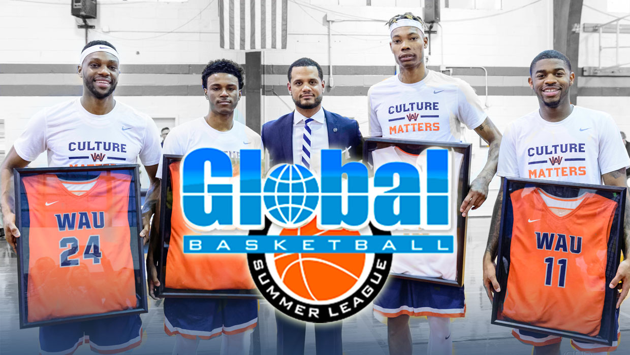 Photo for MEN'S BASKETBALL FORMER CORE FOUR TAKES OVER GLOBAL BASKETBALL SUMMER LEAGUE